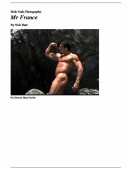 Male Nude Photography- Mr France