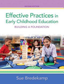 Effective Practices in Early Childhood Education Book