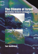 The Climate of Israel ebook