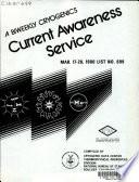 A Biweekly Cryogenics Current Awareness Service