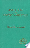 Joshua 24 as Poetic Narrative
