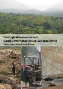 Geological Resources and Good Governance in Sub-Saharan Africa Pdf/ePub eBook