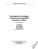 Development Strategies And Food And Nutrition Security In Africa Book PDF