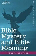 Bible Mystery and Bible Meaning Pdf/ePub eBook