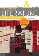 COMPACT Literature: Reading, Reacting, Writing, 2016 MLA Update