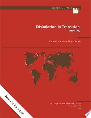 Download Disinflation in Transition: 1993-1997 PDF