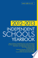 Independent Schools Yearbook 2012-2013