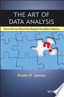 The Art of Data Analysis
