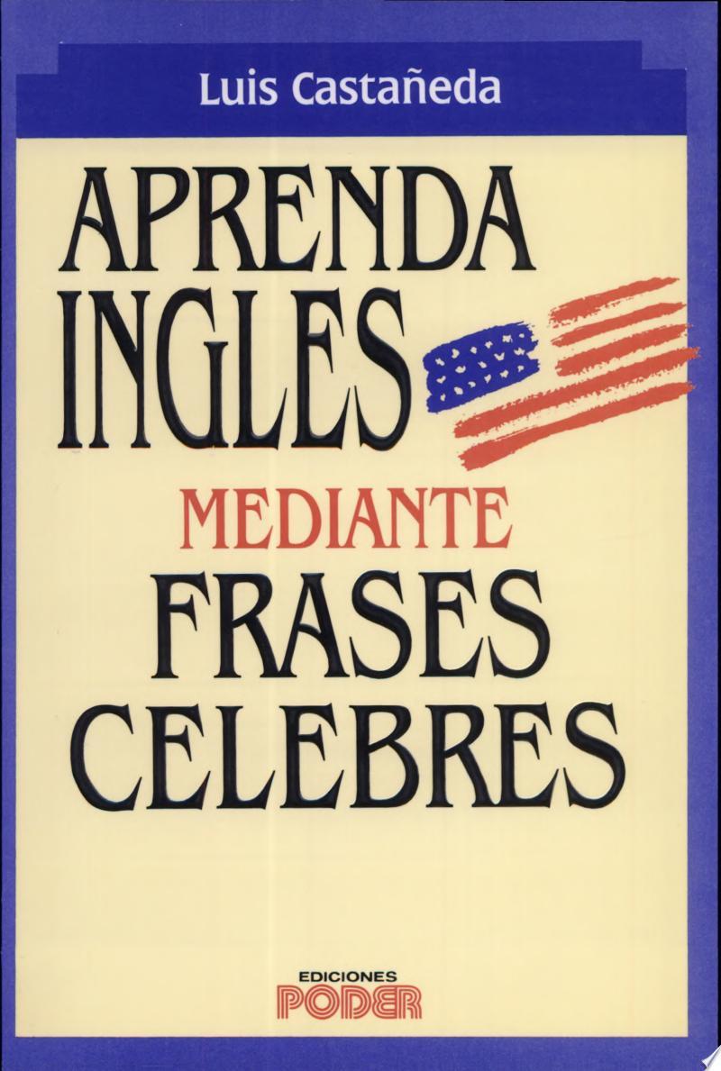 Aprenda Ingles Mediante Frases Celebres banner backdrop