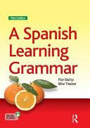 A Spanish Learning Grammar