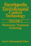 Encyclopedia of Environmental Control Technology  Volume 3 Book