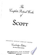 The Complete Poetical Works of Scott
