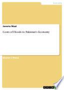Costs of Floods to Pakistan's Economy