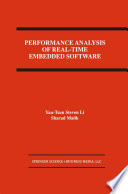 Performance Analysis Of Real Time Embedded Software Book PDF