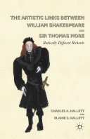 The Artistic Links Between William Shakespeare and Sir Thomas More Pdf/ePub eBook