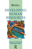 Developing Human Resources Book