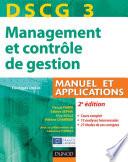 DSCG 3 - Management et contrôle de gestion - 2e éd.