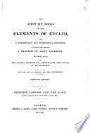 The First Six Books of the Elements of Euclid Book PDF