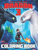 How to Train Your Dragon 3 Coloring Book