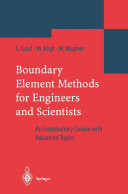 Boundary Element Methods for Engineers and Scientists