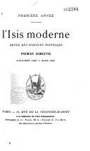 L'Isis moderne