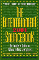 The Entertainment 2001 Sourcebook