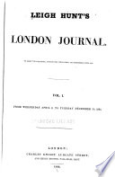 """""""Leigh Hunt's London Journal"""" by Leigh Hunt"""