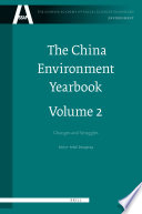 The China Environment Yearbook  Volume 2