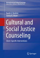 Cultural and Social Justice Counseling [Pdf/ePub] eBook