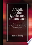 A Walk in the Landscape of Language