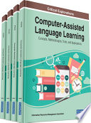 Computer Assisted Language Learning Concepts Methodologies Tools And Applications