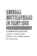 General Encyclopedias In Print