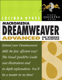 Macromedia Dreamweaver 8 Advanced for Windows and Macintosh