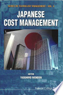 Japanese Cost Management