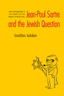 Pdf Jean-Paul Sartre and the Jewish Question Telecharger