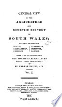 General View of the Agriculture and Domestic Economy of South Wales