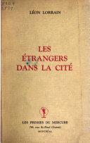 Les étrangers dans la cité