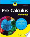 Pre Calculus For Dummies