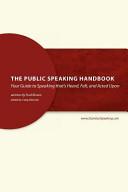 The Public Speaking Handbook Book