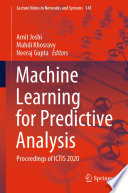 Machine Learning for Predictive Analysis