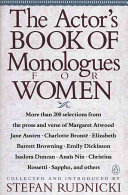 The Actor s Book of Monologues for Women