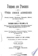 Freedom and Progress Book PDF