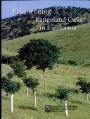 Regenerating Rangeland Oaks in California