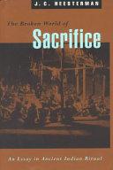 The Broken World of Sacrifice