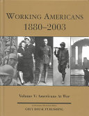 Working Americans  1880 1999  Americans at war
