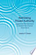 Rethinking Private Authority