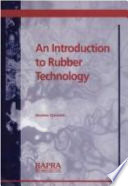 An Introduction to Rubber Technology Book