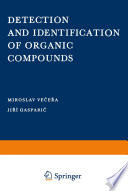 Detection and Identification of Organic Compounds
