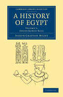 A History of Egypt  Volume 5  Under Roman Rule