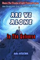 Are We Alone in the Universe Pdf/ePub eBook